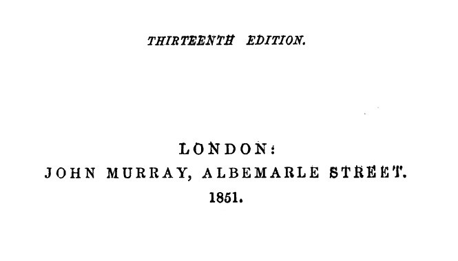 Gladstone's Letters - 1851 - THIRTEENTH EDITION